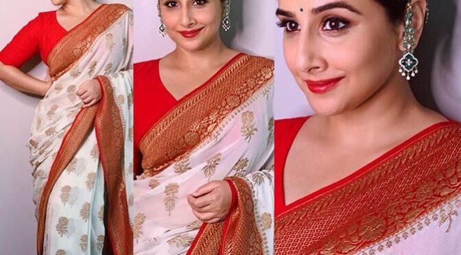 Vidya Balan's Festive Look!