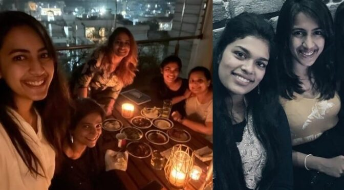 Niharika konidela hosted a grand party to her cousins!