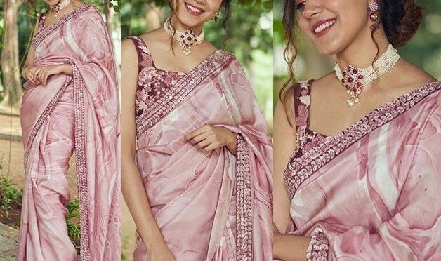 Ritu Varma looking gorgeous in Mishru Saree