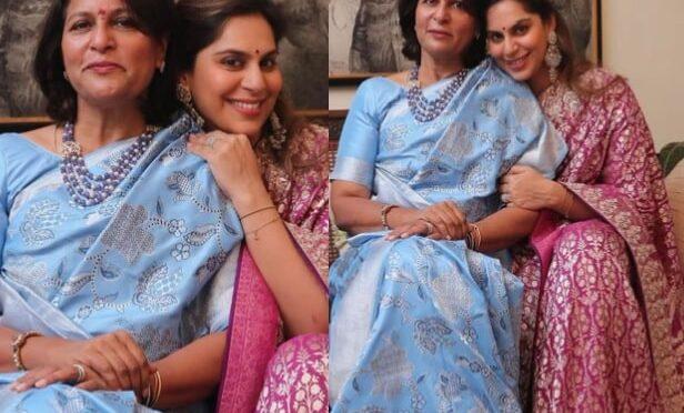 Upasana Konidela looking graceful in Anita dongre saree!
