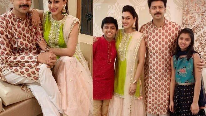 Actor Srikanth family Diwali celebraiton photos!