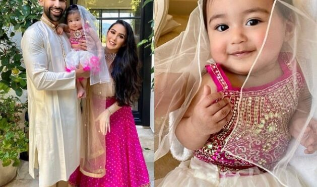 Dhar mann family looking graceful in traditional outfits for Diwali!