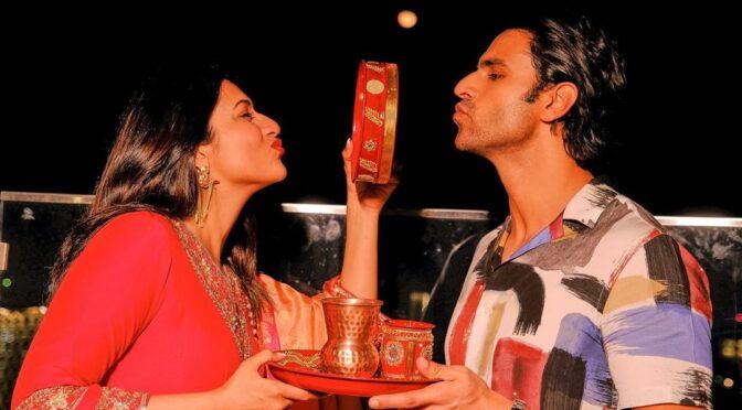 Divyanka Tripathi Dahiya Celebrates Karwa Chauth