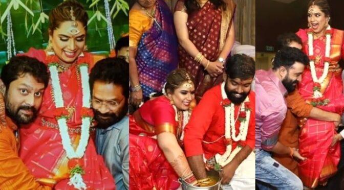 Happy days Gayathri Rao unseen wedding Photos!