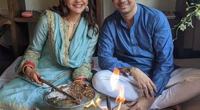 Kajal Aggarwal new house warming photos!