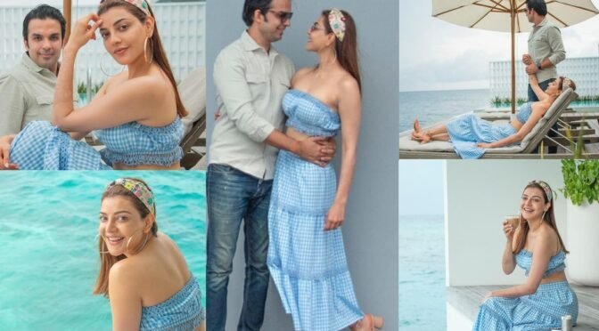 New Pics From Kajal Aggarwal And Gautam Kitchlu's Honeymoon Are Simply Amazing