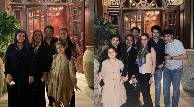 Mahesh babu family celebrates Diwali festival in Dubai!