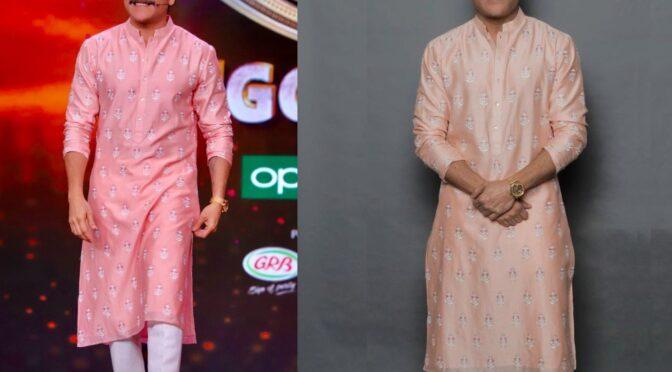 Akkineni Nagarjuna looked dapper in Anita Dongre kurta set!