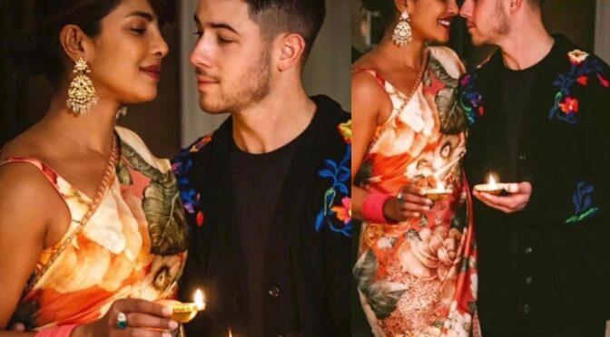 Priyanka Chopra and Nick Jonas Celebrates Diwali in UK!