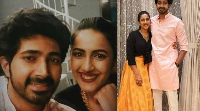 Special Diwali for Niharika konidela and Chaintanya!