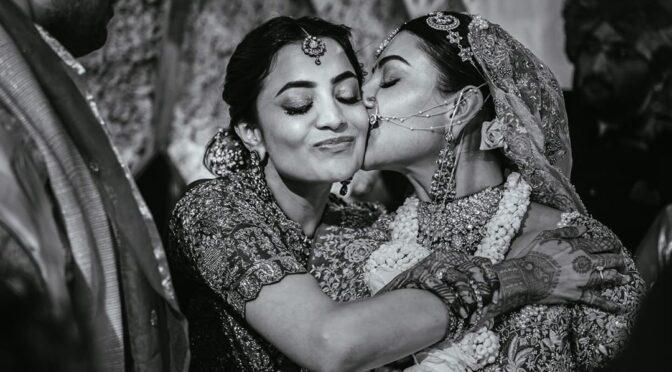 Nisha aggarwal shares a beautiful pics of her sister kajal aggarwal wedding!