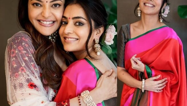 Nisha Aggarwal looks stunning Raw Mango saree!