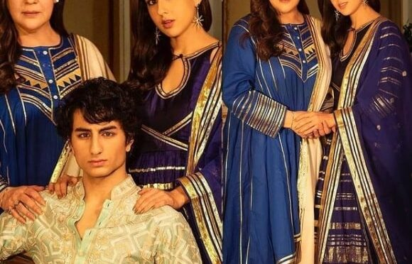 Amrita Singh, Ibrahim Ali Khan and Sara Ali Khan In Abu Jani Sandeep Khosla