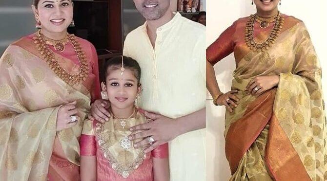 Sangitha Krish family Diwali Celebration photos!