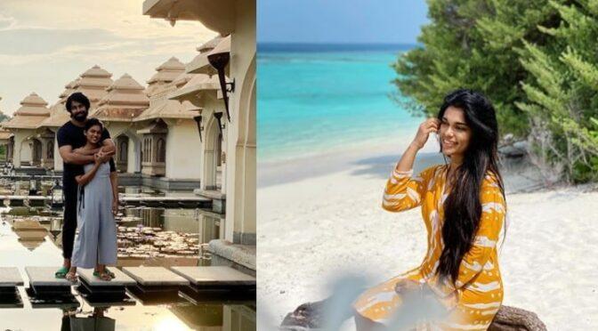 Sreeja Kalyan Celebrates her 32nd birthday in Maldives!