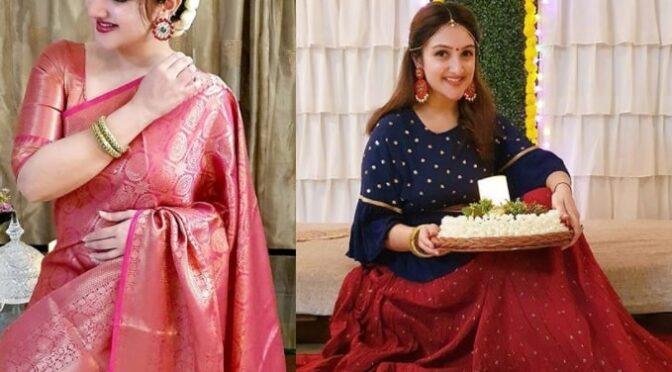 Sridevi Vijaykumar stunning festive looks!