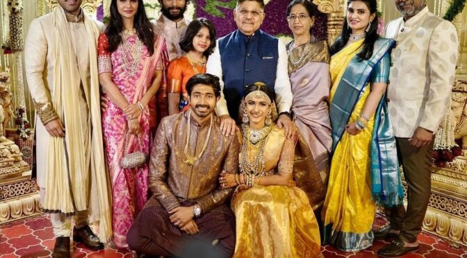 Allu Arjun family at Niharika and Chaitanya wedding!