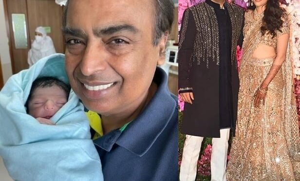 Mukesh, Nita Ambani are grandparents! Akash, Shloka parents of baby boy