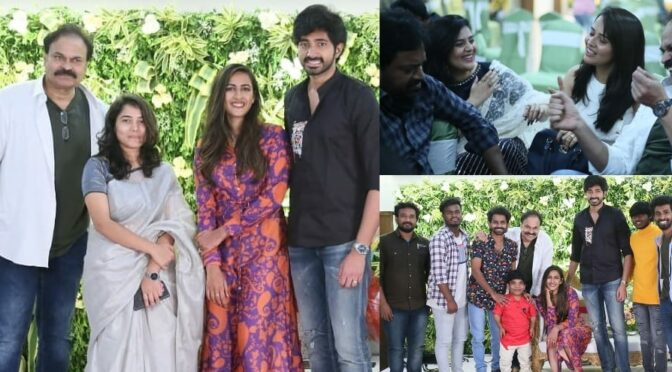 Niharika and chaitanya attended the party hosted by Nagababu!