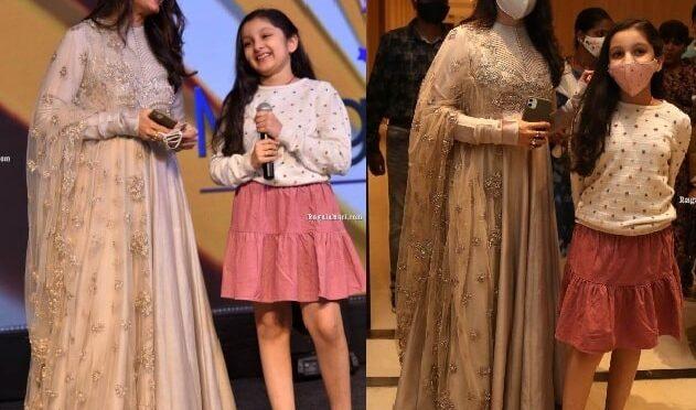 Namrata Shirodkar and Sitara at Funtastic Tara web series launch event!