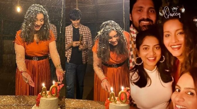 Renu Desai 40th birthday celebration photos!