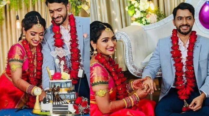 Trinayani serial actress Ashika Padukone engagement photos!