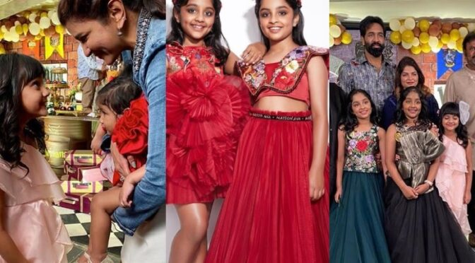 Vishnu Manchu daughters Ariana and Viviana's 9th Birthday Celebrations
