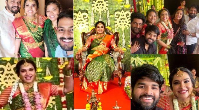 Actress Hariteja Seemantham Photos!
