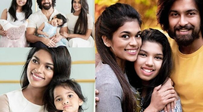 Sreeja Kalyan family looking adorable in the recent Photoshoot!