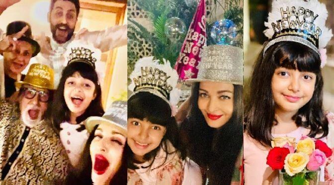 Amitabh Bachchan family New year celebration photos!