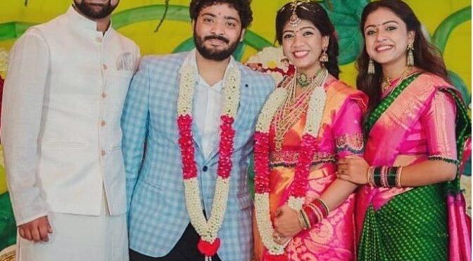 Vithika Sheru sister Krithika sheru Engagement photos!