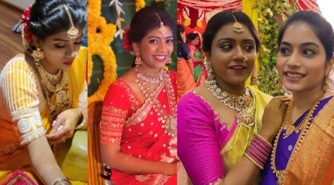 Vithika Sheru sister Krithika Sheru Wedding photos!