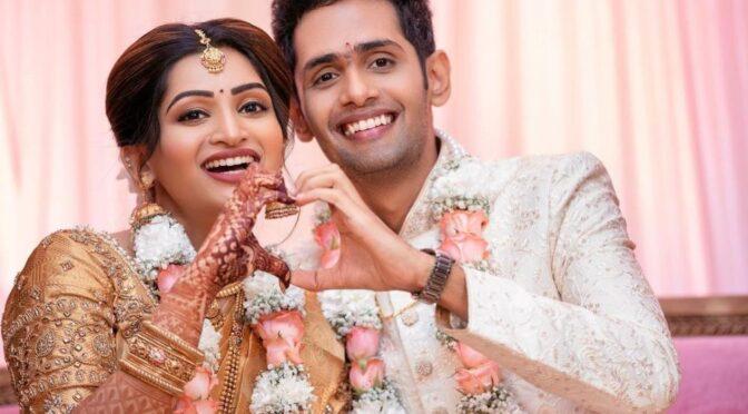 Anchor Nakshathra Nagesh gets engaged to longterm boyfriend Raghav!