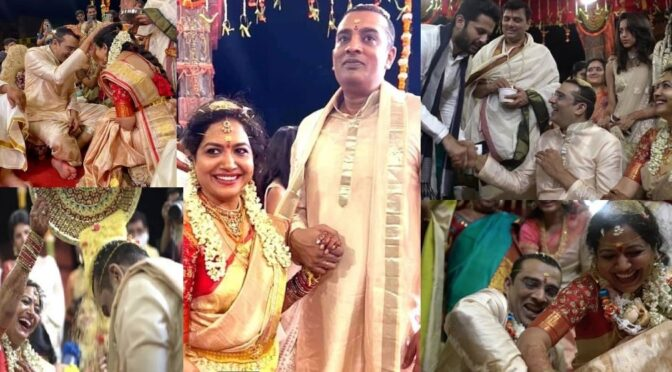 Singer Sunitha ties the knot with her close friend Ram!