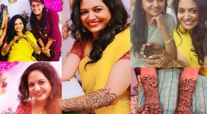 Singer Sunitha Mehendi function photos!
