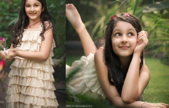 Mahesh babu daughter Sitara looking cute in the recent photoshoot!