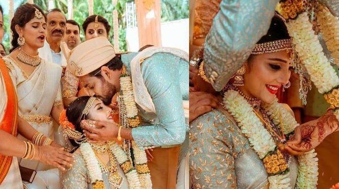 Darling Krishna and Milana Nagaraj's wedding pictures!