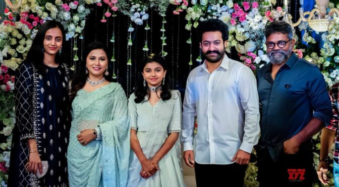 Jr. NTR and Pranathi attended direcotr Sukumar's family function!