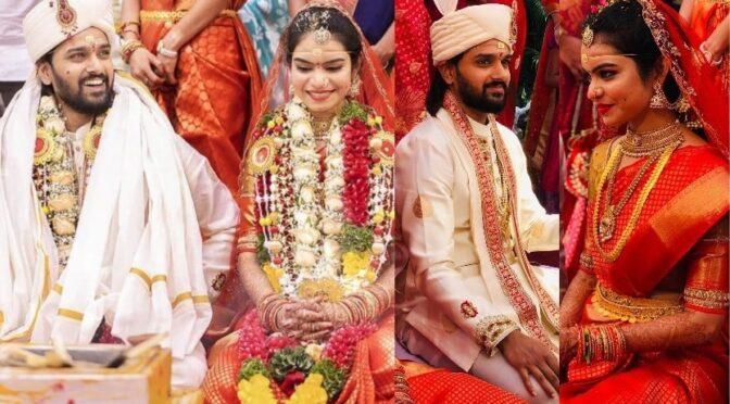 Hero Sumanth Ashwin ties the knot with Deepika Raju