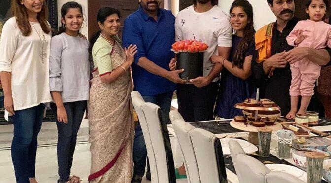 Kalyan Dhev 30th Birthday celebration photos!