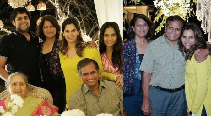 Upasana Kamineni  parents wedding anniversary celebrations!