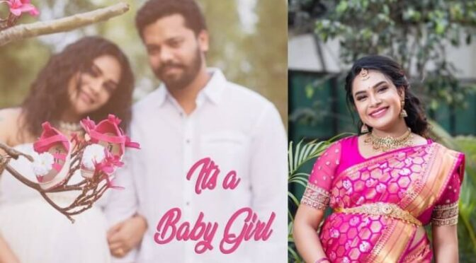 TV anchor Hari Teja blessed with a baby girl