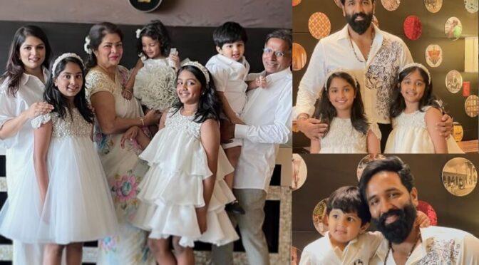 Vishnu Manchu family Easter celebration photos!