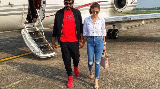 Nayanthara and Vignesh Shivan fly off to Kochi ahead for celebrations of Ugadi festival!