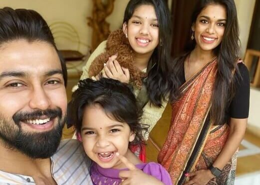 Sreeja Kalyan family Ugadi celebration photos!
