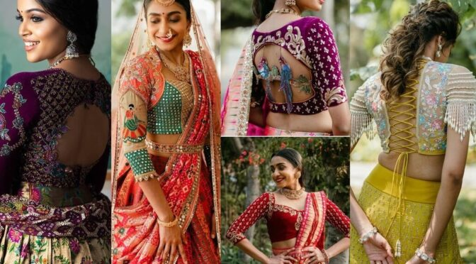 Mind blowing bridal blouse designs by Studio 149!