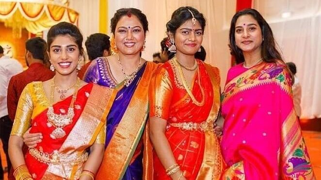 Surekha vani and Hema's daughter stuns in Traditional outfits!
