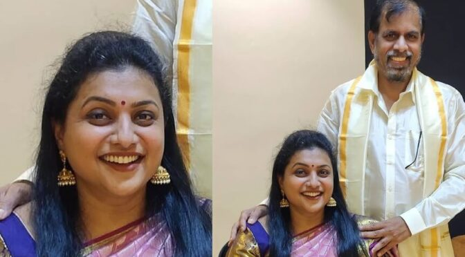 Roja and selvamani traditional outfits!