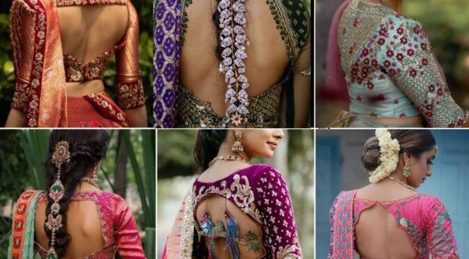 Mind blowing Aari work blouse designs from Studio 149!