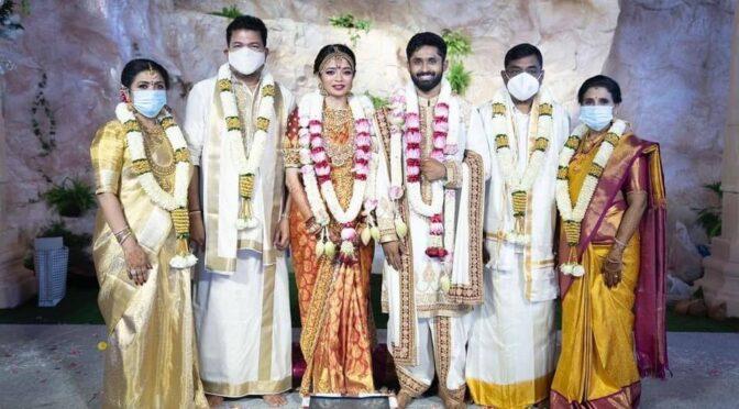 Director Shankar daughter Aishwarya wedding photos!